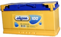 Аккумулятор АКОМ STANDART 100 А EN 850A R+