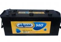 Аккумулятор АКОМ STANDART 140 А EN 920A ЕВРО