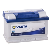 Аккумулятор Varta Blue Dynamic 72 A EN 680 A R+ /572 409 068