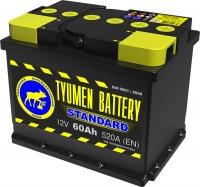 Аккумулятор  Tyumen Battery Standard 60 А EN 520A R+