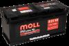 Аккумулятор Moll M3plus 110 А EN 900A R+ L6