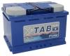 Аккумулятор TAB Polar 75 А EN 750A R+
