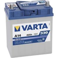 Аккумулятор Varta Blue Dynamic 40 A EN 330 A R+ /540 126 033