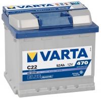 Аккумулятор Varta Blue Dynamic 52 A EN 470 A R+ /552 400 047